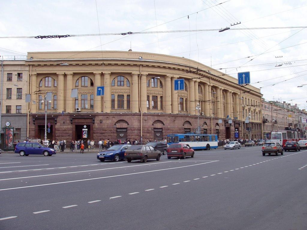 площадь восстания схема метро спб